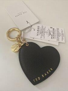 Ted Baker Heart Padlock Keyring Bag Charm BNWTS
