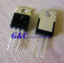 100Pcs Tip31C Npn Transistor 100V 3A To-220 Ic New Good Quality T9