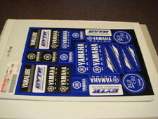 foglio 25 mini adesivi decalco stickers originali Yamaha racing cod N19JS009E2