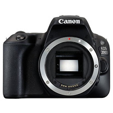 Canon EOS 200D Digital SLR Body - Black