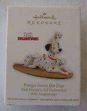 Hallmark 2011 Walt Disney 101 Dalmatians Pongo Saves the Day Christmas Ornament