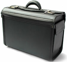 e0f6170efde5 Pilot Case Briefcase Hand Luggage Executive Business Flight Cabin Bag Doctor