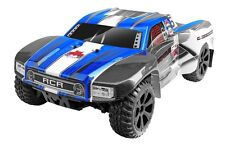 1:10 Scale Blackout SC Short Course RC Truck 2.4GHz Remote Control Blue New