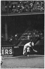 Original 35MM B&W Ebbets Field 1957 Night Game Giants vs. Dodgers