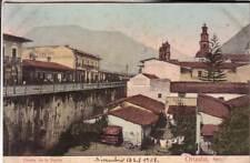 TARJETA POSTAL  ORIZABA  VERACRUZ   MEXICO    VIAG 1908 PUENTE DE LA BORDA