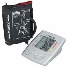 Cresta Upper Arm Blood Pressure Monitor Heart Rate Test BPM610 White 75915.01