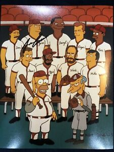 Jose Canseco Bart Simpson Signed Autographed 8x10 Photo Beckett Holo Team