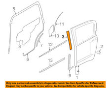 NISSAN OEM 05-15 Xterra Rear Door-Door Shell Tape Left 82819EA000