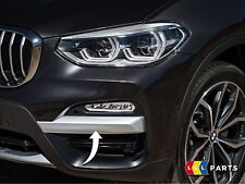 BMW Nouveau Authentique X3 G01 X LINE Pare-chocs avant FOG LIGHT Impact Strip Trim Gauche N/S