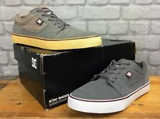 DC SHOES MENS UK 6 EU 41 TONIK GREY SUEDE TRAINERS SKATE SHOES RRP £59 EP