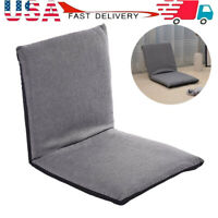 Adjustable Floor Chairs Folding Relaxing Lazy Sofa Chair Cushioned Couch Lounge