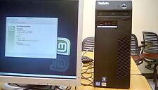 Lenovo ThinkCentre M72e, Linux, Intel Core i3-3220@3.30GHz, 4GB RAM, 320GB HDD