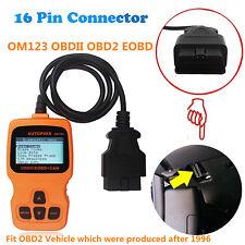 OM123 OBDII OBD2 EOBD Car Fualt Code Reader Scanner Auto Diagnostic Scan Tool
