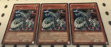 3 x SDCR-EN006 - Cyber Valley Playset YuGiOh NEW
