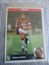 SPAIN STICKER   CARD  SOCCER FOOTBALL PLAYER PAOLO MALDINI