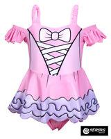 Lol Simile Stage Costume Intero Mare Bambina Swimsuit Monokini Center LOLSWI04