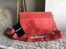 Desigual floral embroidered shoulder bag cross body bag New