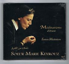 SOEUR MARIE KEYROUZ - MÉDITATIONS D'ORIENT VOL 1 - 2012 - NEUF NEW NEU