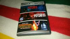 Psycho 2, 3, 4 DVD Slasher Horror