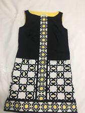 MAGGY LONDON Women's Multi Color Sleeveless Shift Dress Size 6