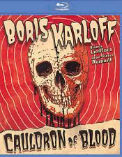 Cauldron Of Blood Blu-ray Horror Sealed Boris Karloff