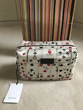 Paul Smith Homme Gents laver Travel Toiletry Sac Carte Design-Bnwt