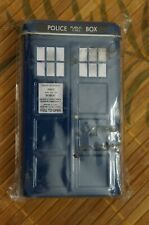 Dr Who Battles in Time - Tardis Collectors tin - Factory Sealed - 4 Booster pack