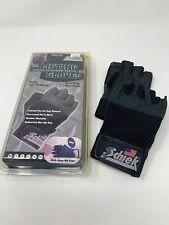 NEW SCHIEK LIFTING GLOVES 530 Wrist Wraps Gel Padding Black MEDIUM