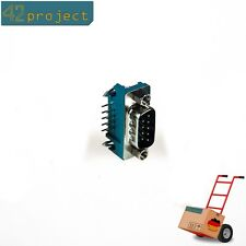D-SUB Stecker 9 pol gewinkelt 90° male D-Sub9 SUBD-9 pin für Platine / PCB CAN