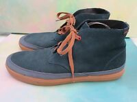 Chrome Industries Indigo Suede Chukka Forged Rubber Boots Mens 10.5