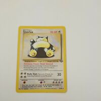 Snorlax 27/64 Jungle Set RARE Pokemon Card non-Holo Played