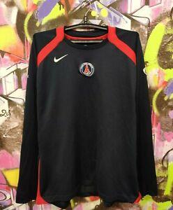 PSG Paris Saint Germain Football Soccer Longsleeve Jersey Top Nike Mens Size XXL