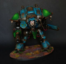 Imperial Chaos Knight  Pro Painted Alpha Legion chaos space marines  titan