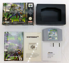 GC BOXED TUROK GAME NINTENDO 64 N64 - FULLY COMPLETE, WORKING & CLEANED