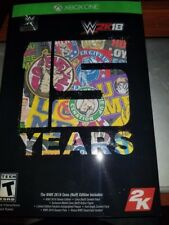 WWE 2k18 Cena Nuff XBOX ONE (Missing WWE Supercard QR Code)