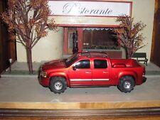 RARE CUSTOM Off Road GMC Sierra Denali Toy Pickup Truck 1:24 Red FREE SHIPPING