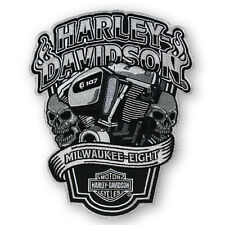 "Harley-Davidson Parche, Emblema ""Milwaukee-Eight XL EM255904"