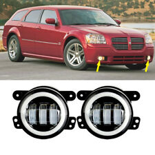 Pair 4 Inch 30W LED Fog Lights DRL Driving Lamps Bright for Dodge Journey Magnum