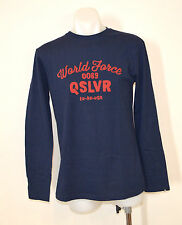 Quiksilver Mens Printed T Shirt - NAVY BLUE - SIZE - XS - NEW