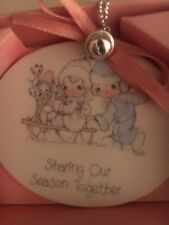 Precious Moments Sharing Our Season Together Ornament