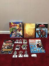 Kids Marvel Avengers Action Pack BOX/livres/Presse à caractères/scènes d'action