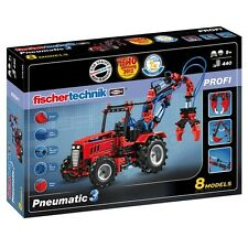 Fischertechnik 516185 - PROFI Pneumatic 3 | Pneumatik Baukasten