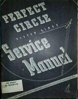 1941 Perfect Circle Piston Rings Service Manual