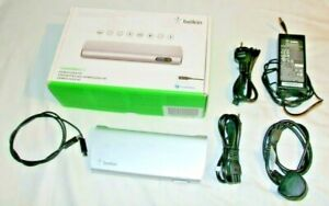 Belkin Thunderbolt 2 Express Dock HD (F4U085) + Thunderbolt 2 Cable (boxed)