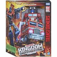 Transformers Optimus Prime WFC K Leader Series Figure **NEW**