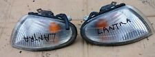 HYUNDAI LANDRA MODEL 1990 95 FRONT CORNER LIGHTS PAIR LH RH 92301-290 KOREA USED
