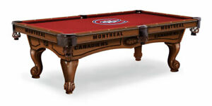 Officially Licensed Montreal Canadiens 8' Pool Table