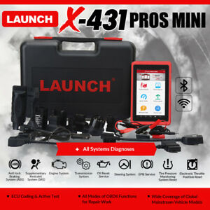 2021NEW Version LAUNCH X431 V+ PLUS Pros Mini All System OBD2 Diagnostic ScanPAD