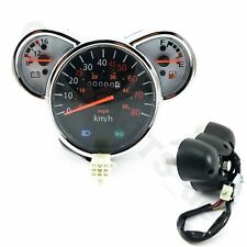 Tacho Tachometer Cockpit z.B. Znen Zn50qt-e5 Retro Roller Scooter Moped Quad Atv