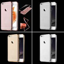 Etui Coque Housse silicone Souple Bumper Originale Contour Alu iPhone 6 6S Plus